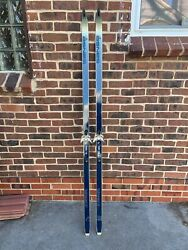 vintage Asnes cross country skis $50.00