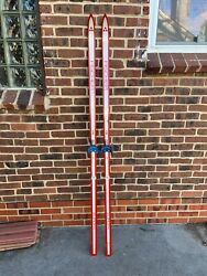 vintage Fischer cross country skis $50.00