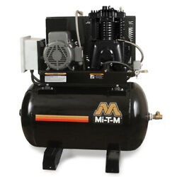 MI-T-M ACS-23375-80HM M Series Horizontal Air Compressor7.5