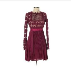 NWT Romeo amp; Juliet Couture Burgundy Cocktail Dress Size Small MSRP $218 $49.50