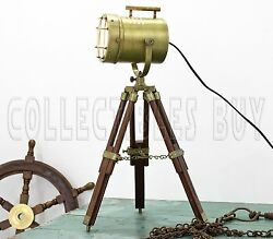 Antique Table Lamp Desk LED Lamp Adjustable Tripod Home Decor Tripod Stand Lamps