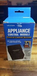Leviton 6224 Appliance Control Module for the Central control system NEW.