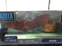 GODZILLA KING OF THE MONSTERS 6quot; RODAN ARTICULATION FIGURE W OSPREY HELICOPTER $19.95