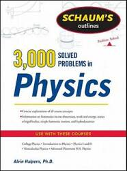 Schaum's 3000 Solved Problems in Physics (Schaum's Outlines) - VERY GOOD $21.60