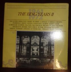 100 YEARS OF GREAT ARTISTS AT THE MET 2 LP - The Bing Years 1961-72. SEALED. $17.60