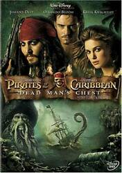 Pirates of the Caribbean: Dead Man#x27;s Chest DVD VERY GOOD $3.89