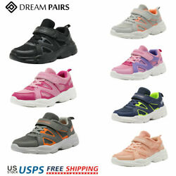 DREAM PAIRS Kids Sneakers Boys Girls Mesh Sporty Tennis Shoes Running Shoes $12.50