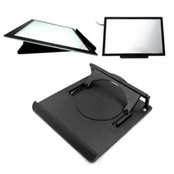LED Tracing Light Box Board Artist A4 Pad Stand 360° Rotation 9 Angle Points