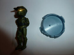 Halo Reach Master Chief UNSC green armor 3 mini figure 2012 McFarlane Toys! $4.27
