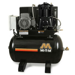 MI-T-M ACS-20375-80HM M Series Horizontal Air Compressor7.5