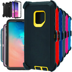 For Samsung Galaxy S9 S9+ Plus Shockproof Hard Case Clip Fits Otterbox Defender $6.39