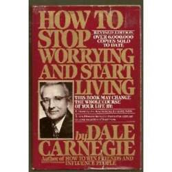 How to Stop Worrying and Start Living Revised Edition Hardcover GOOD $4.08