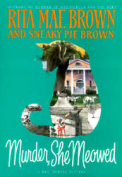 Murder She Meowed (Mrs. Murphy Mysteries) - Hardcover - ACCEPTABLE