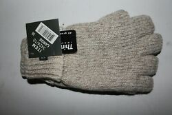 Fingerless Ragg Wool Thinsulate Lined Gloves Fishing Hunting Skiing Snowmobling $13.99
