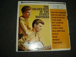 The Everly Brothers - Golden Hits Of The 1962 USA Stereo Orig. VGE $2.99