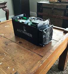 AntMiner S5 ~1155Ghs  0.51WGh 28nm ASIC Bitcoin Miner
