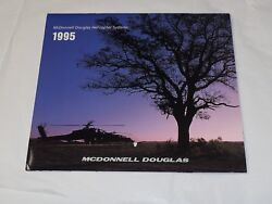 McDonnell Douglas Helicopter Systems 1995 CALENDAR COLOR PHOTO 11quot; X 19.5quot; $12.95