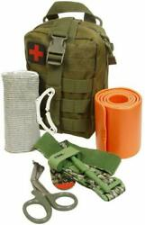 ASATechMed Emergency Survival Trauma Medical Kit w Molle Pouch First Aid Kit $29.99