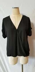 Black Sheer Top From Lush Small $7.00