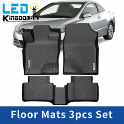 Floor Mats Liners for 2016-2020 Honda Civic Sedan Hatchback 4Dr All Weather TPE $95.99