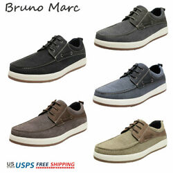 Bruno Marc Mens PU Dress Shoes Formal Classic Lace-up Business Flat Casual Shoes $27.54