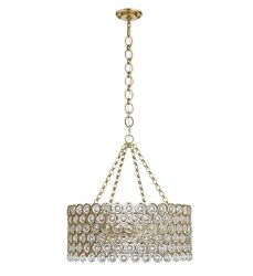 "Visual Comfort AERIN LESINA - 16 light - 31.0"" round - GILD - Crystal Chandelier"