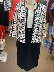 STUDIO ONE DRESS SUIT NEW WITH TAG RETAIL$149 NOT LINED SIZE 12 LENGTH 38quot; $59.99