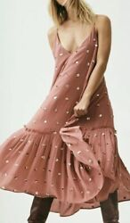 Free People Milky Way Sequin Maxi Size Large NWT $136.00