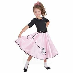 Girls Poodle Skirt Costume Set : 50#x27;s Costume $29.99