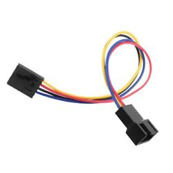 5Pin to 4Pin Fan Connector Adapter Converter Extension Cable for PC Laptop Well $2.99