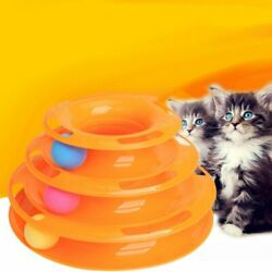 Pet supplies cat interactive puzzle cat tower play board cat toy Disk Amusement $10.98