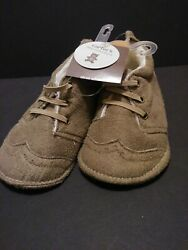 Carters Little collections Boys 9 to 12 months slide on booties shoes $9.50