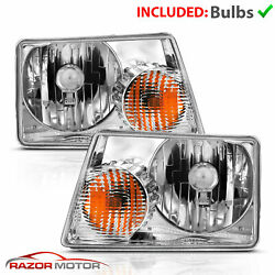 01-09 Ford Ranger Left Right OE Direct Replacement Headlights Lamp Assembly Pair $57.69