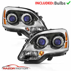 For 07-11 GMC Acadia FACTORY OE REPLACEMENT Chrome Projector Headlights Assembly $267.88