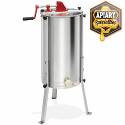 Pro 2 Frame Stainless Steel Honey Extractor Beekeeping Equipment Honeycomb Drum $139.99
