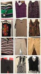 Womens Plus Size Clothing Lot 10 Items size 16 And 1x 2x 3x $35.00