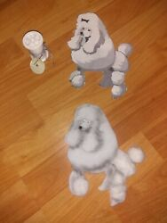 Handmade Poodle For Use On A 50#x27;s Poodle Skirt 7 1 2quot; Long 5 1 2quot; Wide $9.09