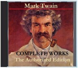 Complete Works of Mark Twain - The Authorized Edition 24 PDF Books on DVD + More