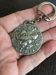 Vintage Keychain Charm Novelty Animals Silver $12.00