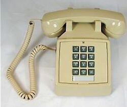 Cortelco ITT 2500 V AS traditional desk phone ASH Made in USA $48.84
