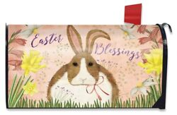 Easter Blessings Bunny Magnetic Mailbox Covers Briarwood Lane $16.71