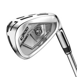 Wilson Staff Golf C300 Forged Iron Set KBS Tour 105 Steel SHIPS FREE $419.99