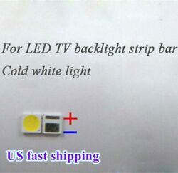 100Pcs 3030 6V SMD Lamp Beads Specially for LED TV Backlight Strip Bar,Repair TV $12.35