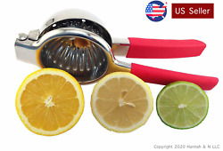 Lemon & Lime Squeezer – Stainless Steel Manual Juicer – Citrus Press – Large Bow $22.50