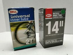 2 Bell Universal Bicycle Inner Tubes 27quot;amp;Kids 14quot; C2 $17.99