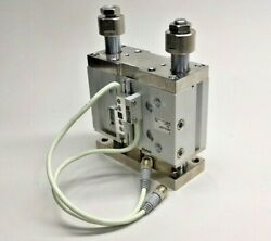 SMC MGPL50-S0282-25A Cylinder Compact Guide with Proximity Sensor Switches $400.00