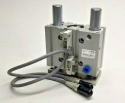 SMC MGPM32-50-P4DWSC-953 Compact Guide Cylinder with Proximity Sensor Switches $375.00