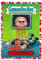 2018 GARBAGE PAIL KIDS  WE HATE THE 80'S *RED BORDER 2A AXED MAX 80'S TV 0275 $9.99