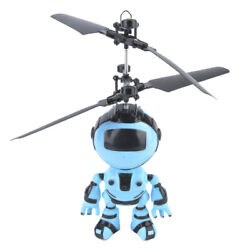 Flying Robot Doll Hand Induction Control RC Helicopter Kids Child Toys Fly Gift $14.43