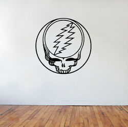 Grateful Dead Steal Your Face Wall Decal vinyl sticker large decor $19.99
